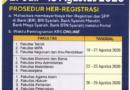 Herregistrasi Smt. Gasal 2020/2021