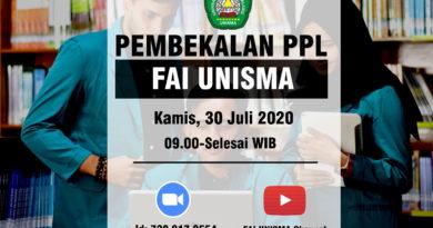 Pembekalan PPL FAI 2020